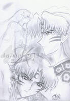 Fun Sesshomaru doodles by Animaker131