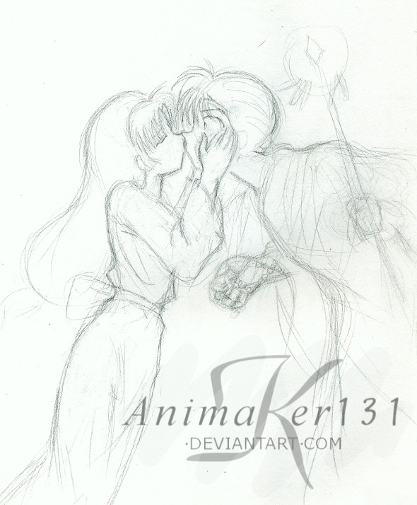 miroku and sango coloring pages photo11