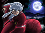 InuYasha's Moon colored