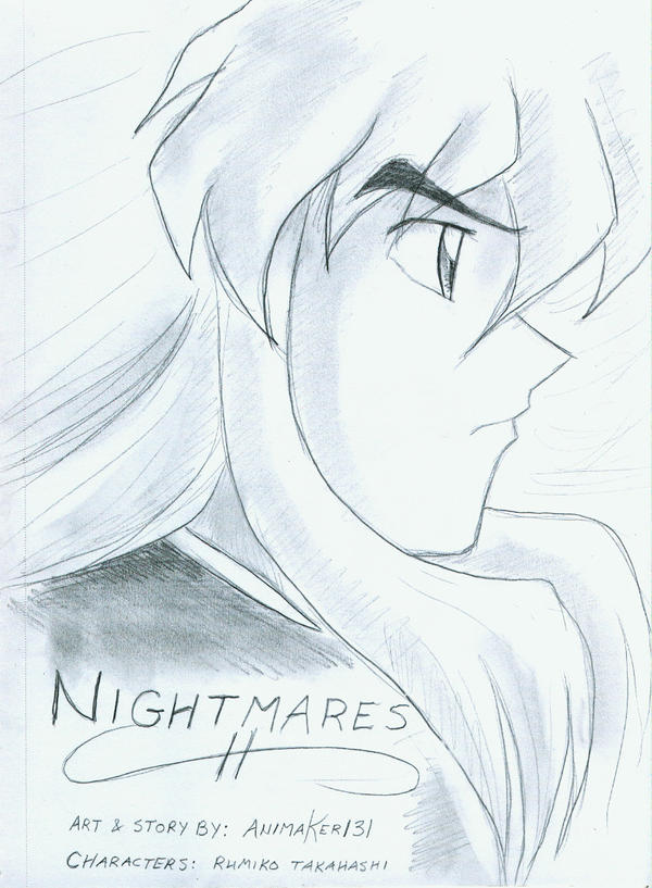 Nightmares Dojinshi Cover by Animaker131