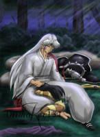 Rin's Bad Dream -art trade- by Animaker131