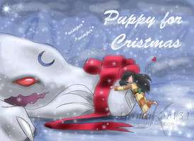 Puppy for Christmas by Animaker131