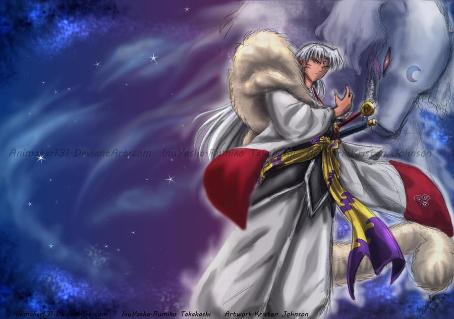 Powerhouse sesshoumaru by animaker131 on deviantart - Sesshomaru inuyasha wallpaper ...