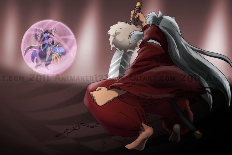 Scene 04 InuYasha Vs Naraku By Animaker131
