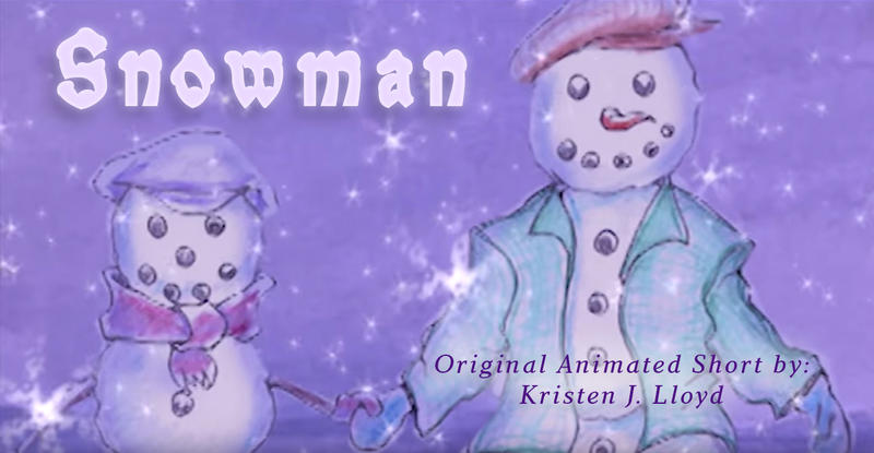 Snowman Animated Short by Animaker131