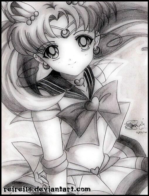 Sailor Chibimoon by reirei18