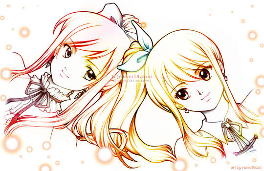 [Fairy Tail] Erza x Lucy