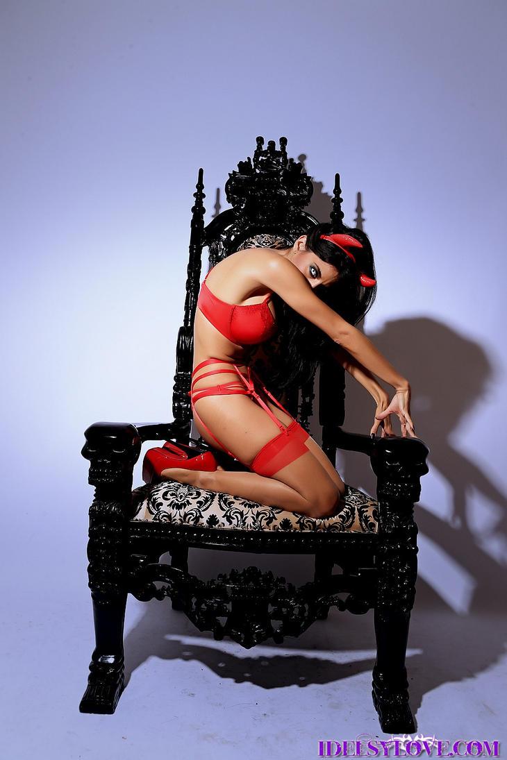Idelsy Love  Her Infernal Majesty by idelsyluvsrubber