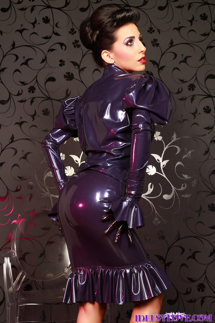 Purple Passion by idelsyluvsrubber