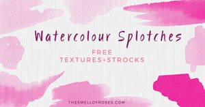 Free hand-painted watercolour backgrounds by thesmellofroses