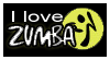 stamp: I love ZUMBA by MoNyOh