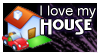 stamp: I love my house by MoNyOh