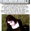 basic goth make up tutorial by MoNyOh