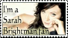 stamp: Sarah Brightman fan by MoNyOh