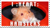 i heart hamsters stamp by MoNyOh