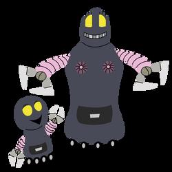 Robot Mom and Son