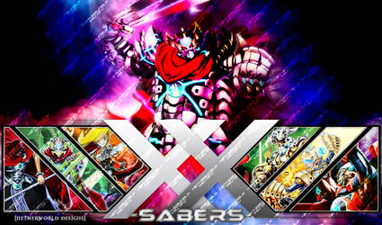 Playmat Preview 23 XX-Sabers by NetherworldDesigns