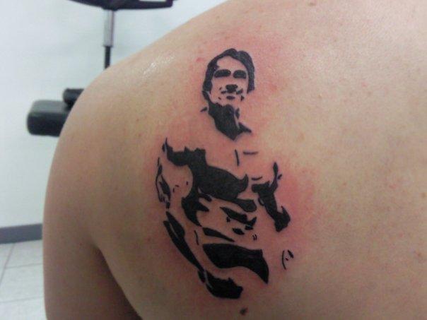 Arnold Tattoo - shoulder tattoo