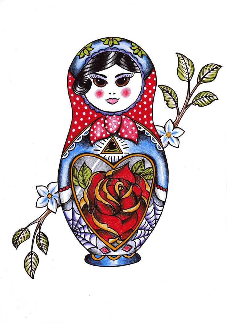 russian doll by jmcquade111 on deviantart. Black Bedroom Furniture Sets. Home Design Ideas