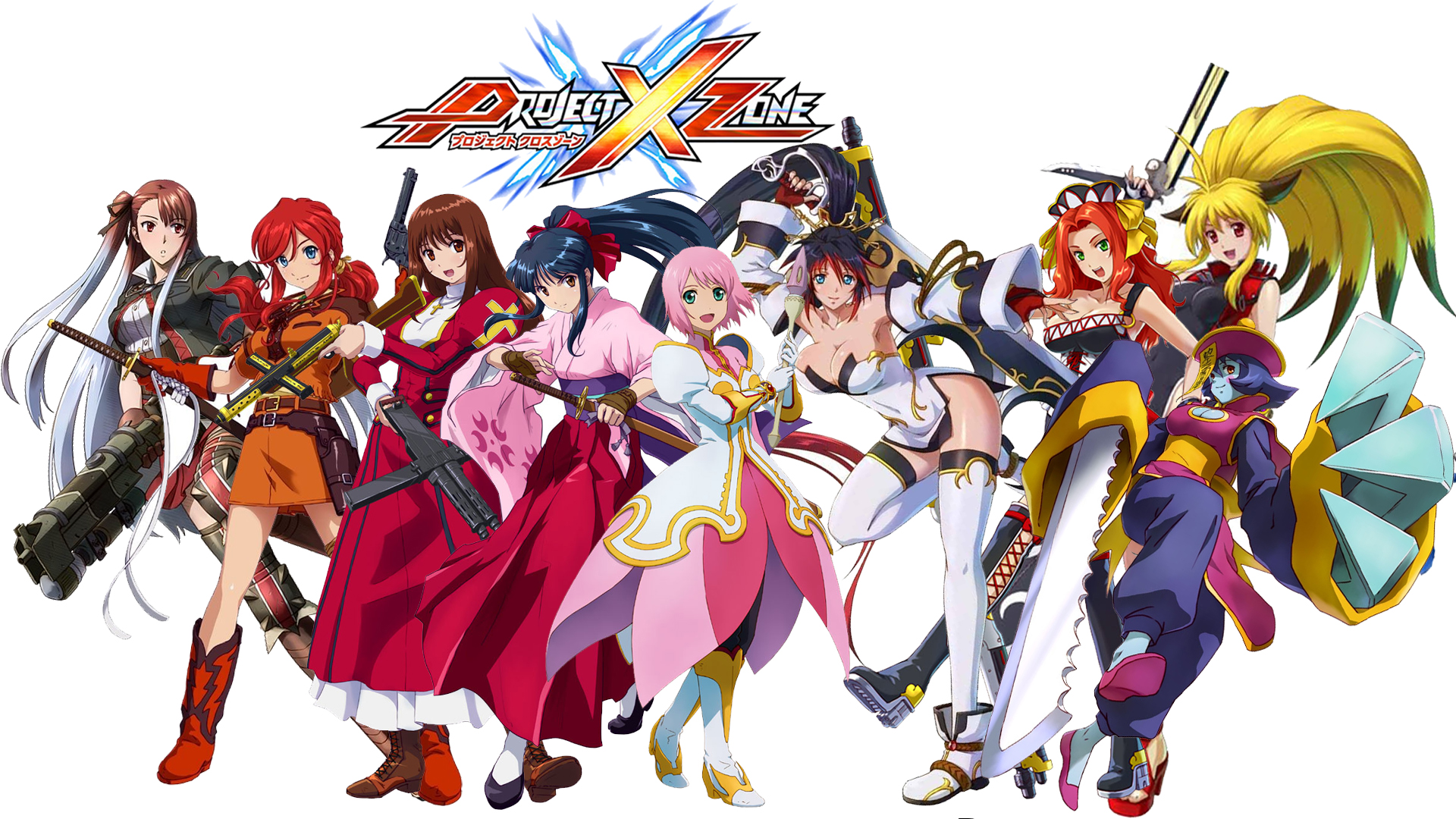Project X Zone Girls Wallpaper By Xylatakura07 On Deviantart