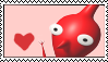 Red Pikmin Stamp by Twin-Cats