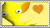 Yellow Pikmin Stamp by Twin-Cats