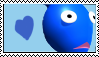 Blue Pikmin Stamp by Lady-Zephyrine
