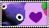 Purple Pikmin Stamp by Lady-Zephyrine