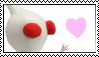 White Pikmin Stamp by Lady-Zephyrine