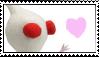 White Pikmin Stamp by Lady-Zephyrine