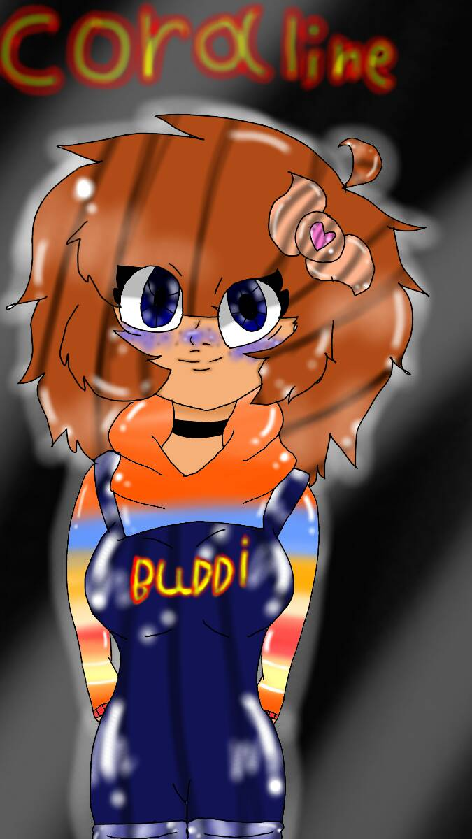 Child Play Oc Her Name Is Coraline By Lightningblissy77 On Deviantart