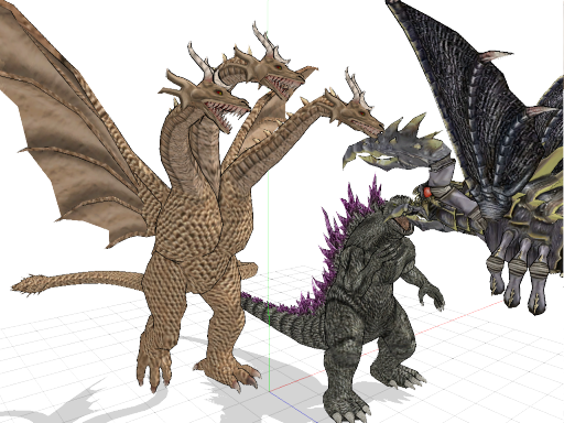 Godzilla X Megaguirus X King Ghidorah: The Returns by ...
