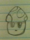 The Unnamed Mushroom Fakemon by Samjoos