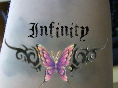 infinity tattoo. Infinity tattoo Idea by ~Ivory-Buttons on deviantART