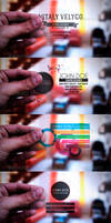 5 in 1 Transparent Business Cards