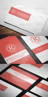 Creative Business Card N4 by vitalyvelygo