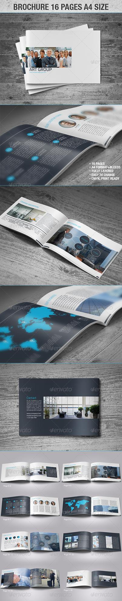 Brochure 16 Page A4 Size by vitalyvelygo