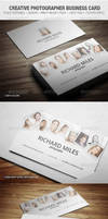 Creative Photographer Business Card by vitalyvelygo