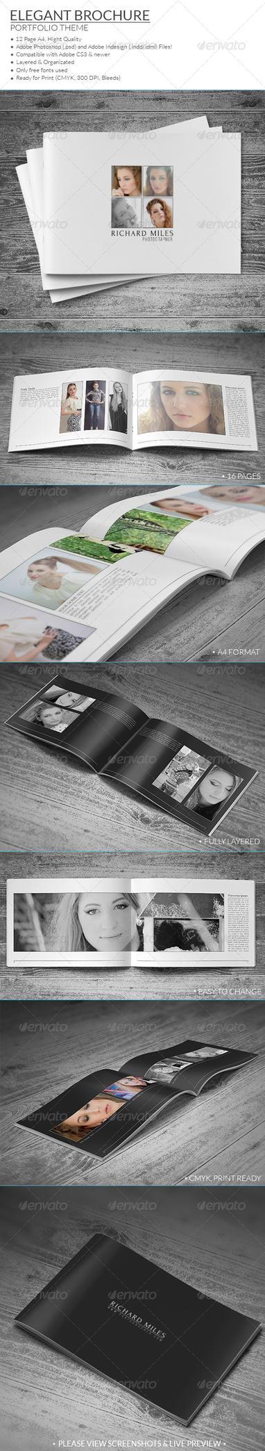 Elegant Portfolio Brochure by vitalyvelygo