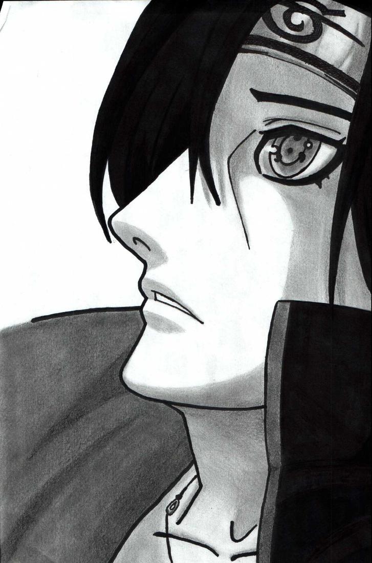 Itachi... by CodeKuro