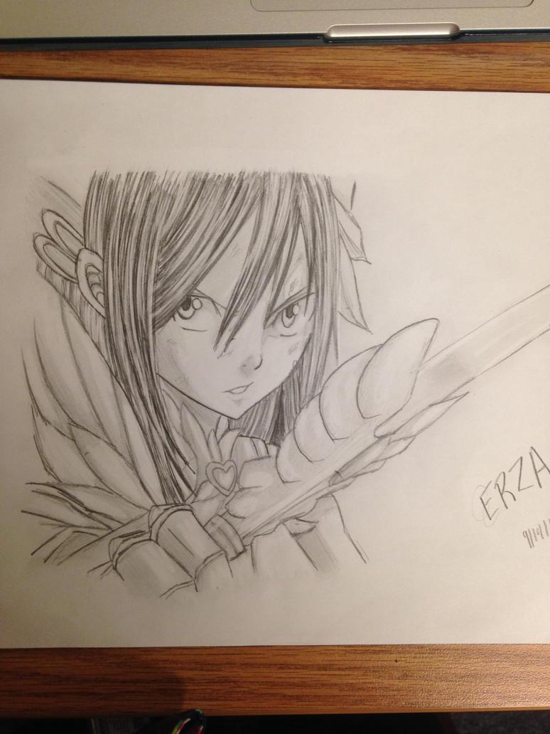 Erza by CodeKuro