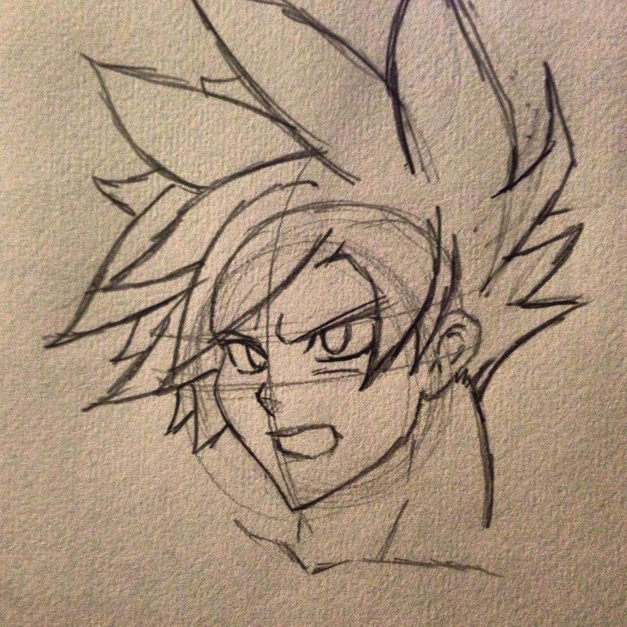 Goku SS1 by CodeKuro