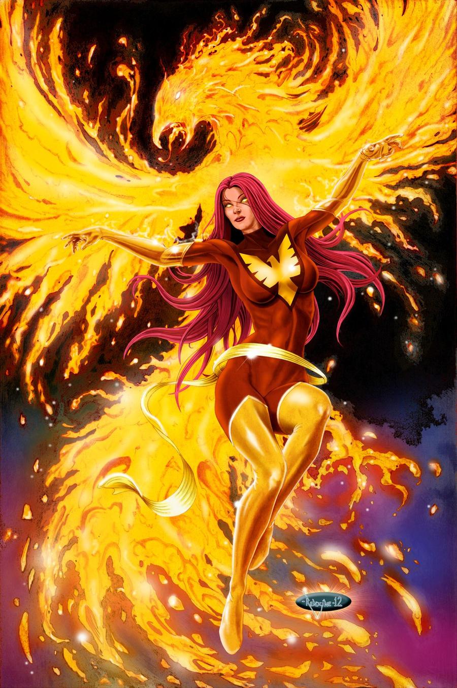 Dark Phoenix Logo Liv Moore iZombie  con would