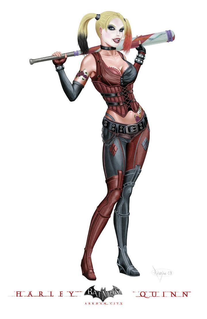 Harley Arkham by mikerenzine
