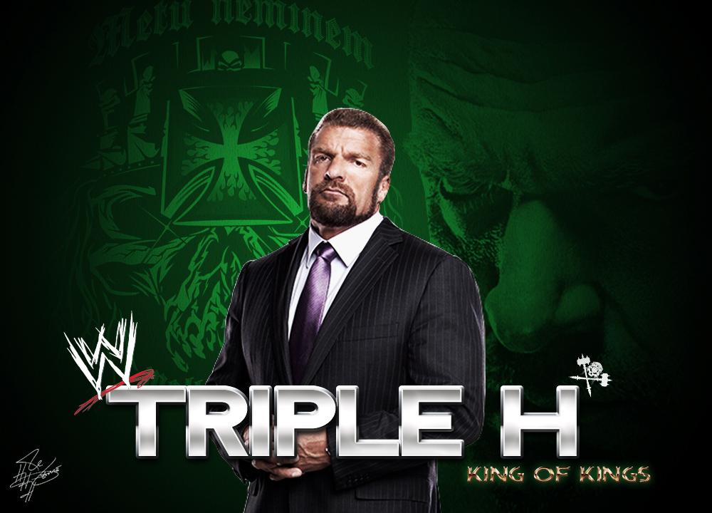 Triple H Wallpaper by LilouFranchise ...