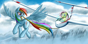 Rainbow Dash Aerotow