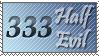 Half Evil Stamp by jim373