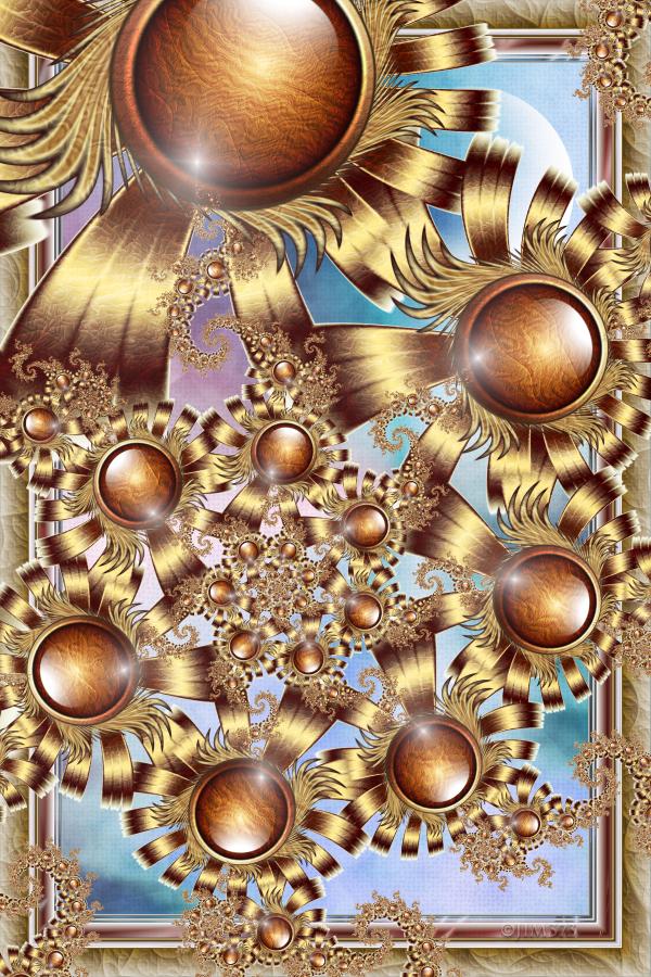 Blue Sky Spiral by jim373