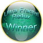 Ultra Fractal Redux Winner Badge by jim373