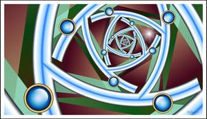 Barnsley Spiral ~ UF Chain Pong 38 ~